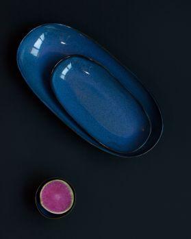 Mae Servierplatte L dunkelblau