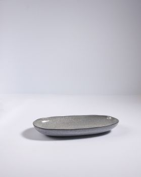 Mae Servierplatte M grau