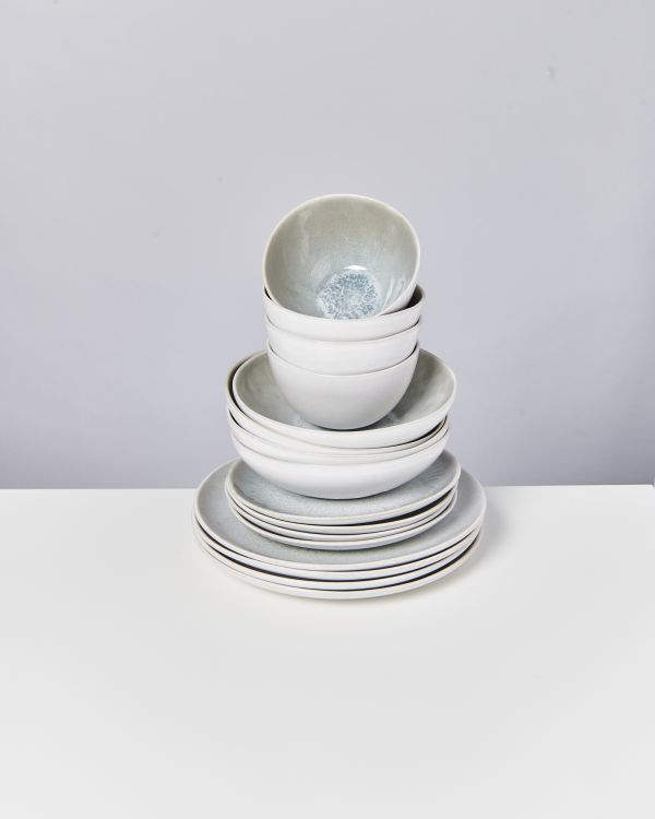 AREIA grey - Set of 16 pieces