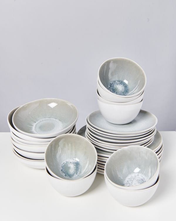 AREIA grey - Set of 32 pieces