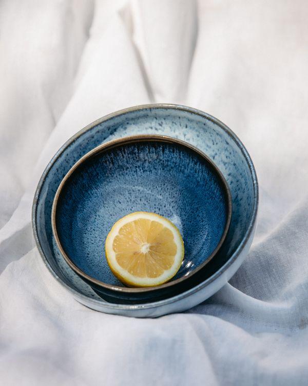 Melides - Cerealbowl blue