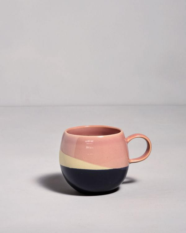 Bica Tasse pink navy cream