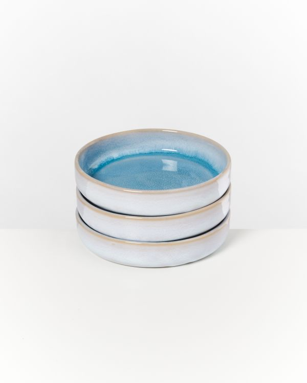 Cordoama Miniteller tief aqua