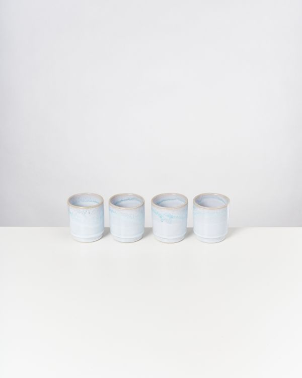 CORDOAMA - Set of 4 Cups azure