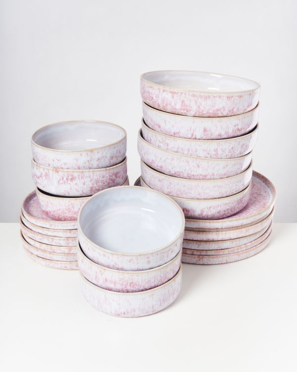 CORDOAMA - Set of 24 pieces pink