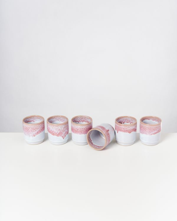 CORDOAMA - Set of 6 Cups pink