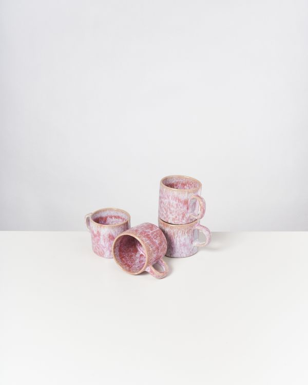 CORDOAMA - Set of 4 Mugs pink