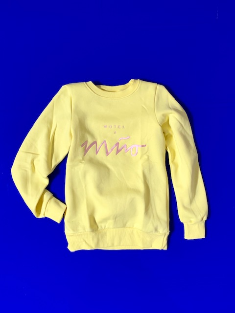 Girls Sweatshirt Lemon L