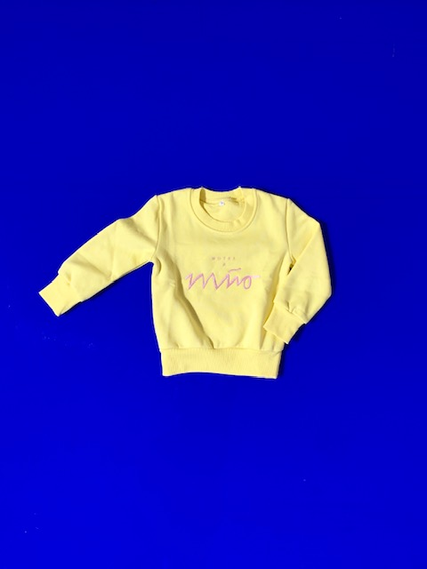 Kids Sweatshirt Lemon