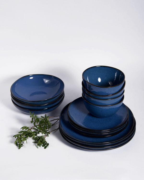Mae 4er Set dunkelblau