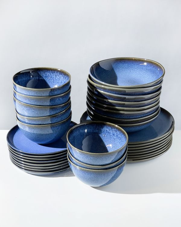 Melides - Set of 32 pieces blue
