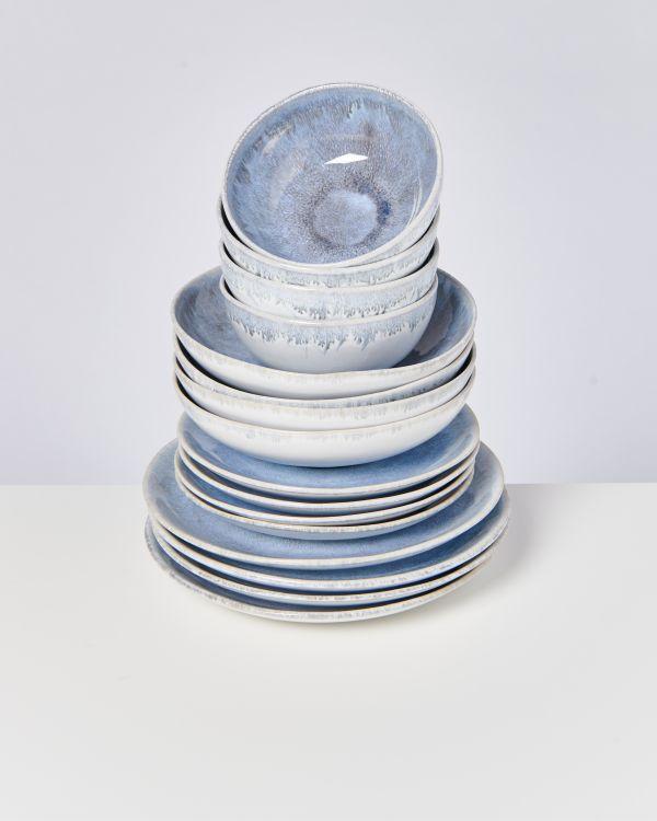 Alcachofra graublau - 16 teiliges Set