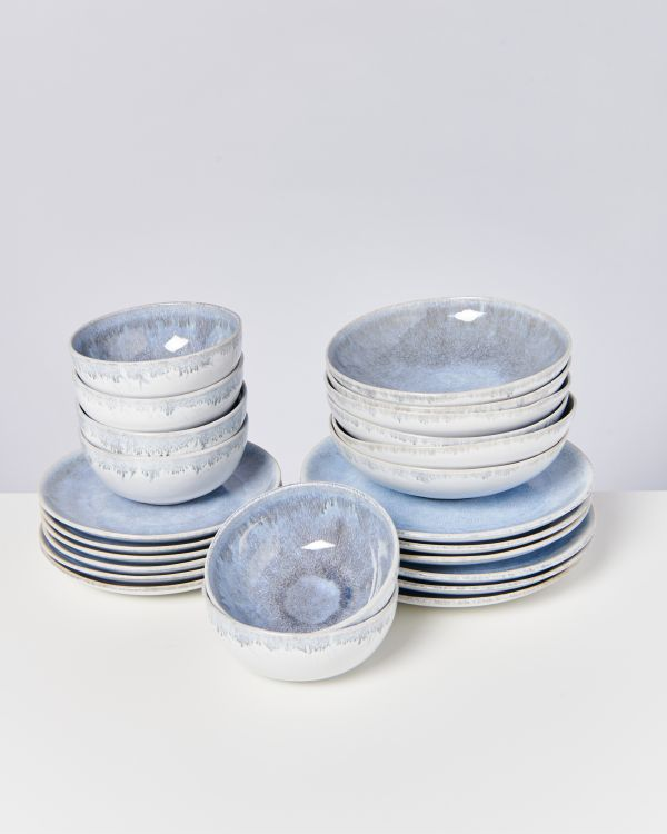 Alcachofra graublau - 24 teiliges Set