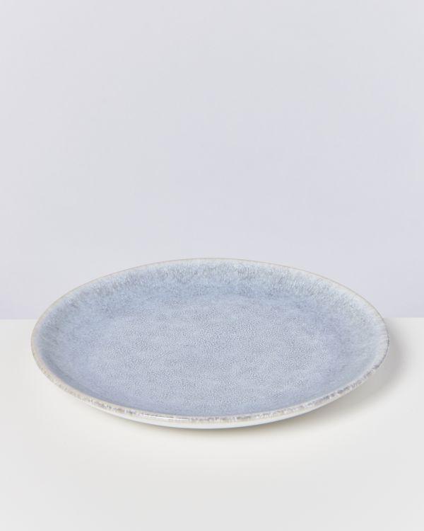 Alcachofra Teller groß graublau