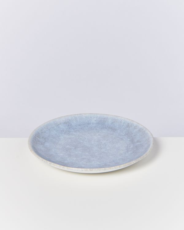 ALCACHOFRA - plate small greyblue