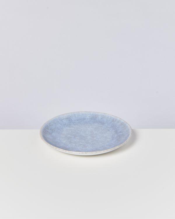 Alcachofra Teller klein graublau