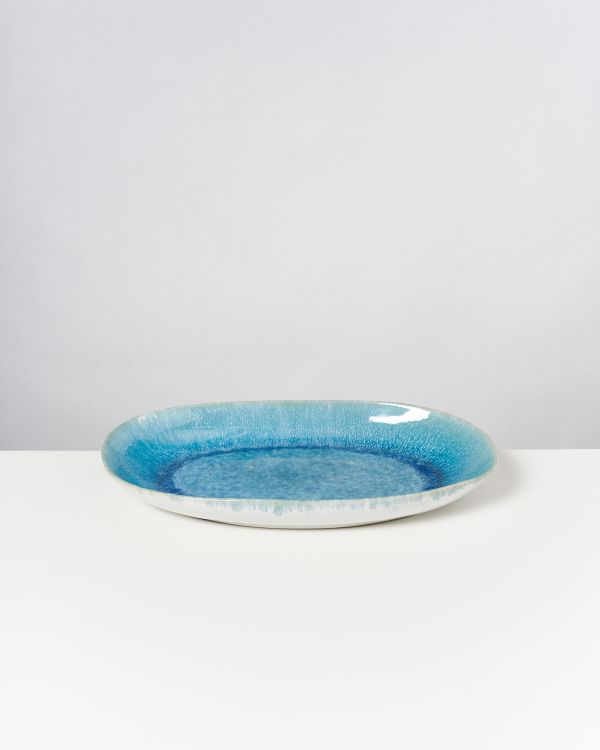 ALCACHOFRA - Serving Platter L greenblue