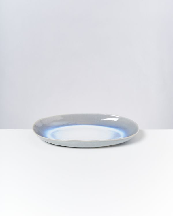 ALCACHOFRA - Serving Platter L lightblue