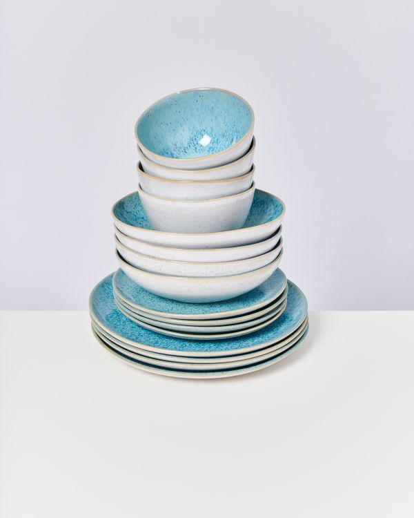 AREIA aqua - Set of 16 pieces