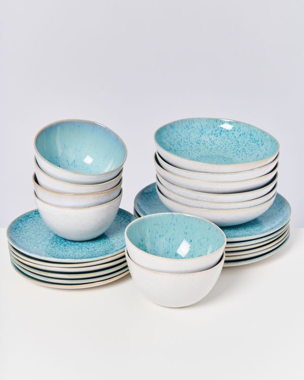 AREIA aqua - Set of 24 pieces