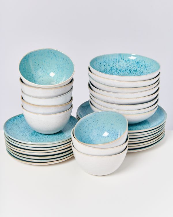 AREIA aqua - Set of 32 pieces
