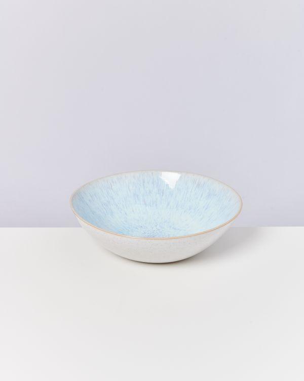 Areia Servierschale groß flach azur
