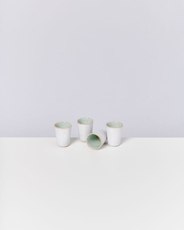 AREIA - Set of 4 Espressocups mint