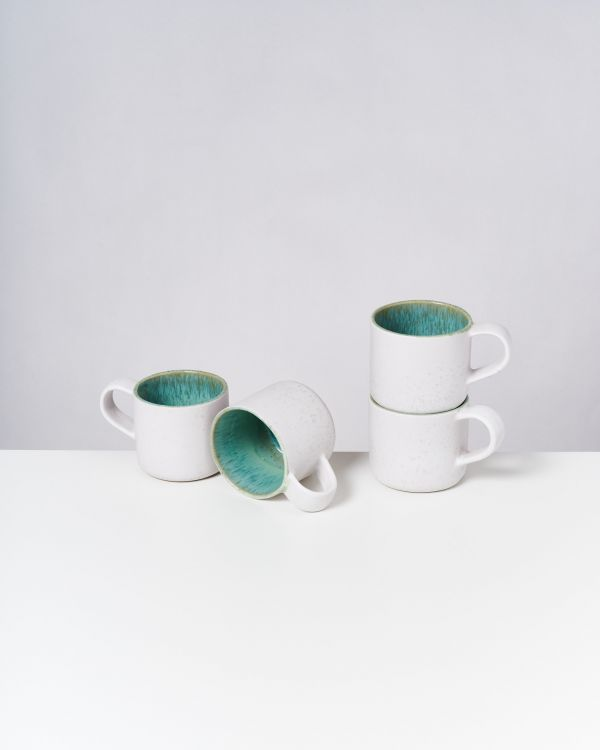 AREIA - Set of 4 Cups Nódoa mint