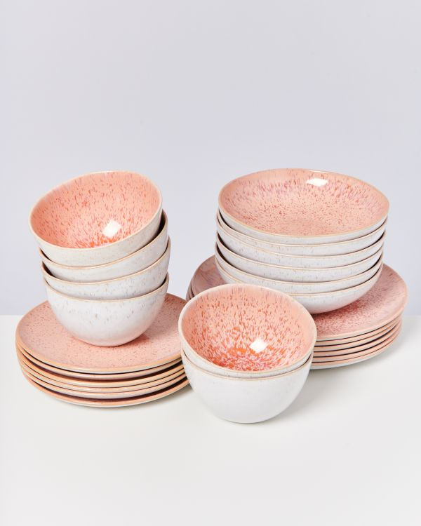 AREIA pink - Set of 24 pieces