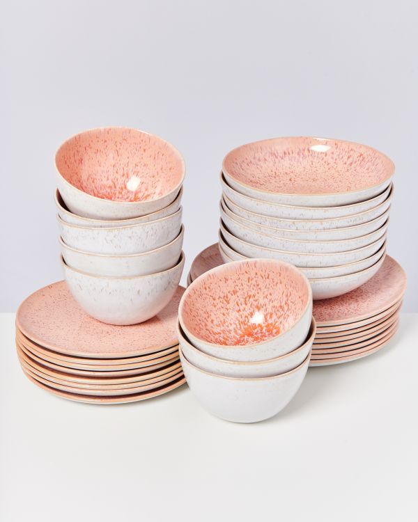 AREIA pink - Set of 32 pieces