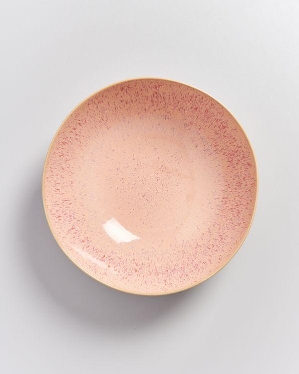 Areia Servierschale groß flach pink