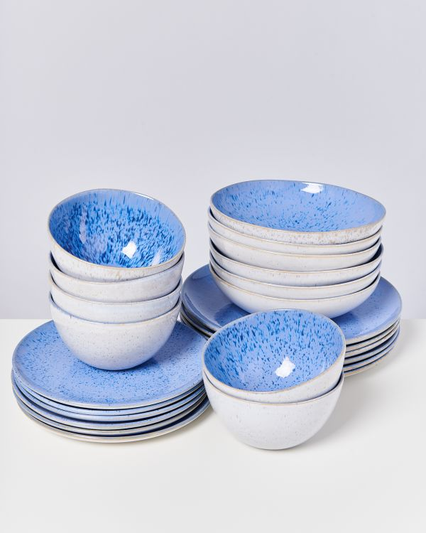 AREIA royal blue - Set of 24 pieces