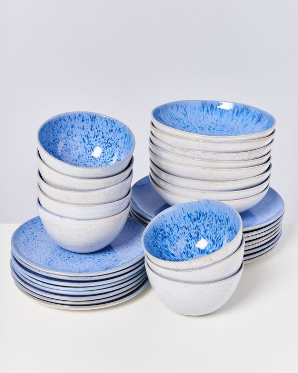 AREIA royal blue - Set of 32 pieces