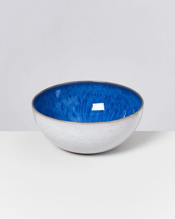 AREIA - Soupbowl royal blue