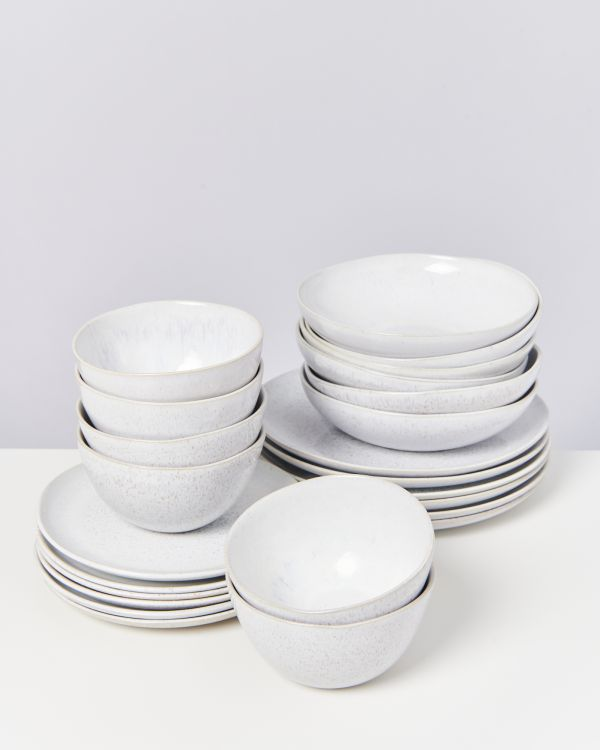 AREIA white - Set of 24 pieces