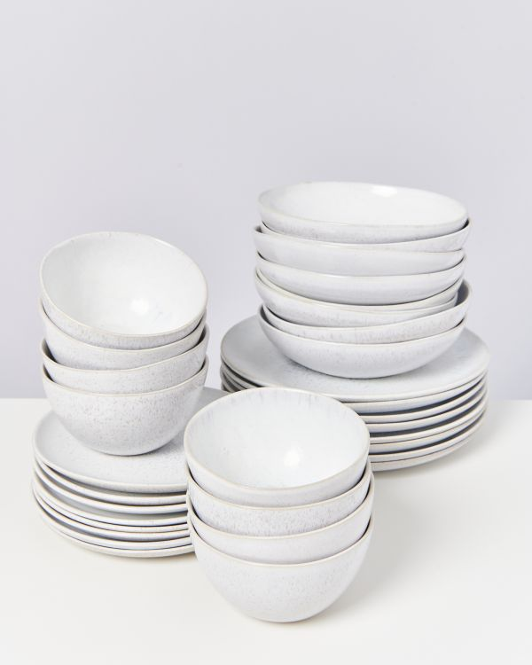 AREIA white - Set of 32 pieces