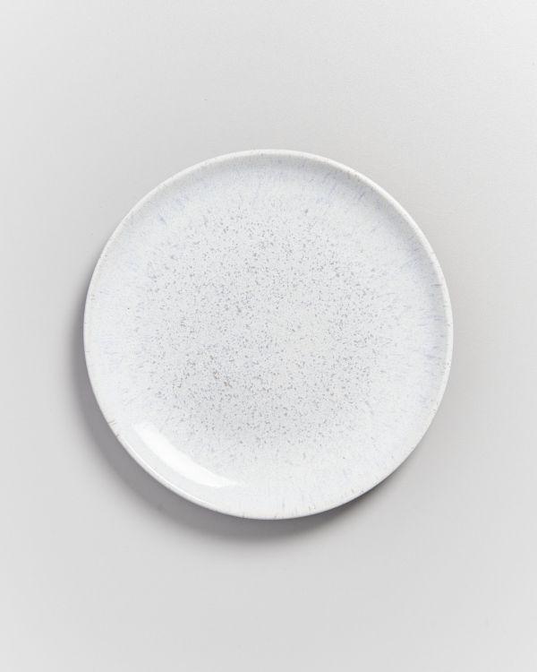 Areia Teller klein weiß