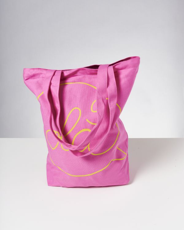 Beach Bag pink gelb