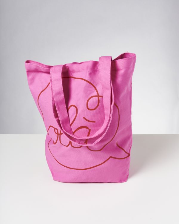 Beach Bag pink rot