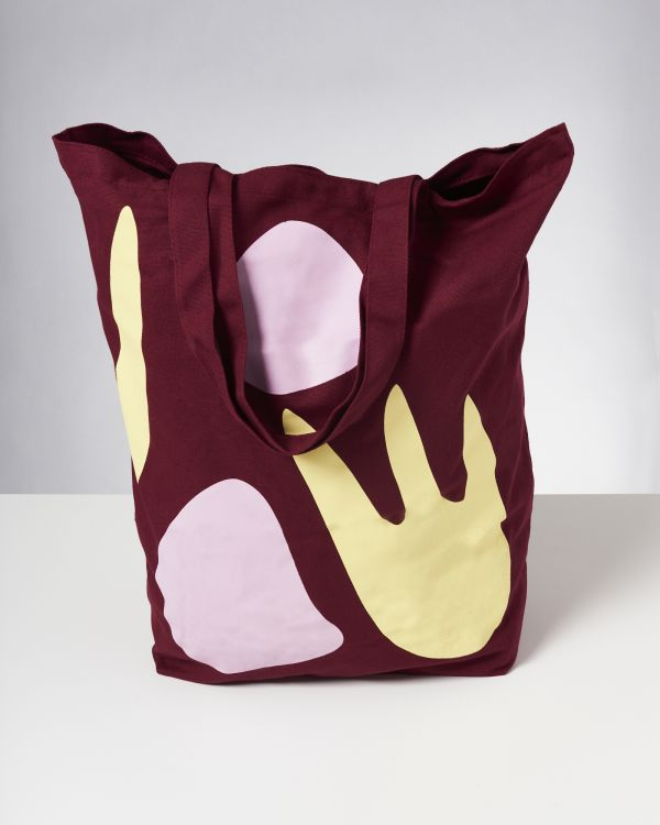 Beach Bag XL bordeaux