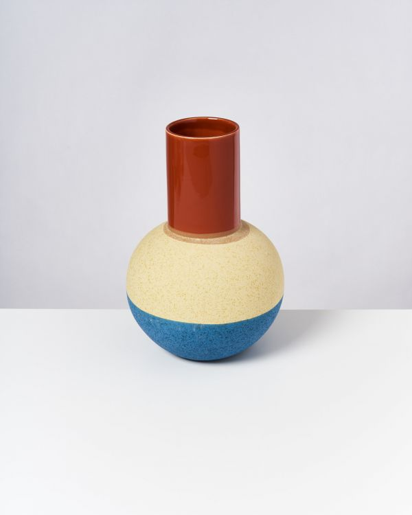 Bola L - copper yellow blue