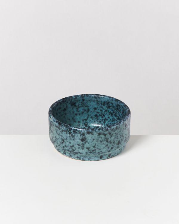 Caparica - Saucebowl 9 cm green black