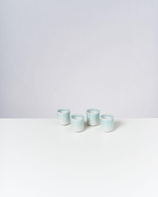 Copa Alto 4er Set Espressobecher jade