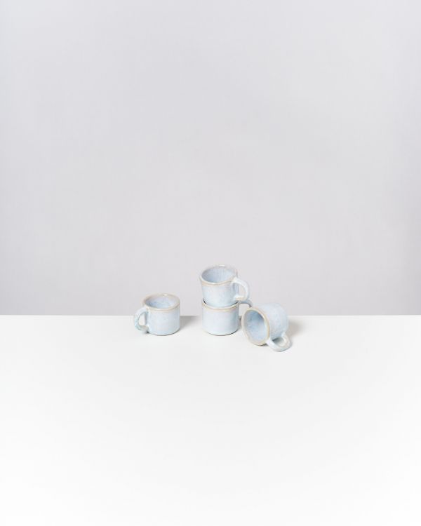 Cordoama 4er Set Espressotasse azur
