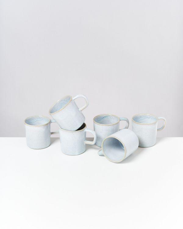 Cordoama 6er Set Tasse groß azur