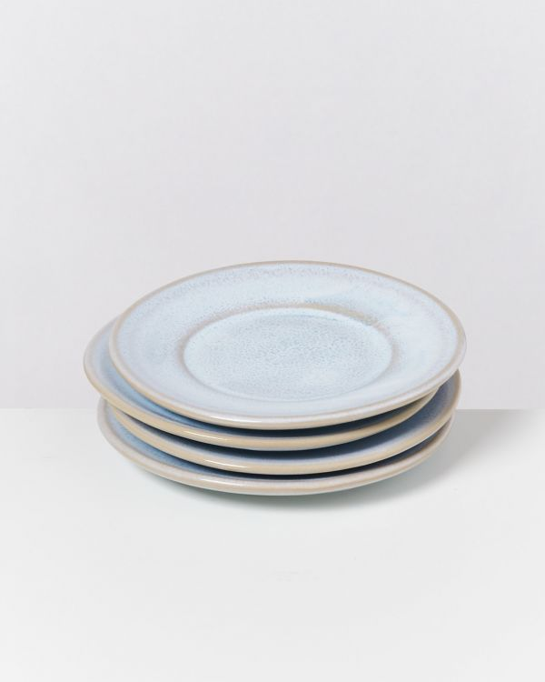 CORDOAMA - Set of 4 Saucers azure