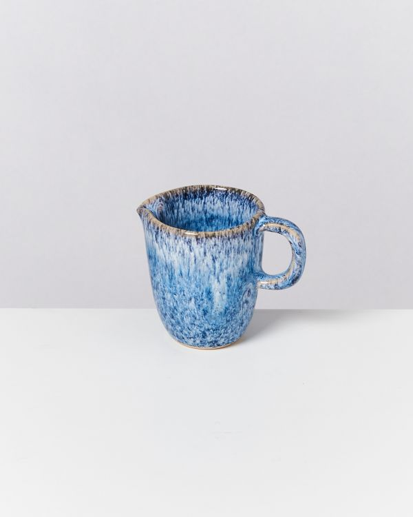 CORDOAMA - Milk Jug blue speckled