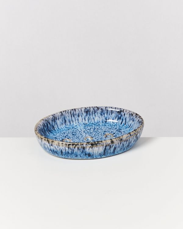 Cordoama – Soap Dish blue speckled