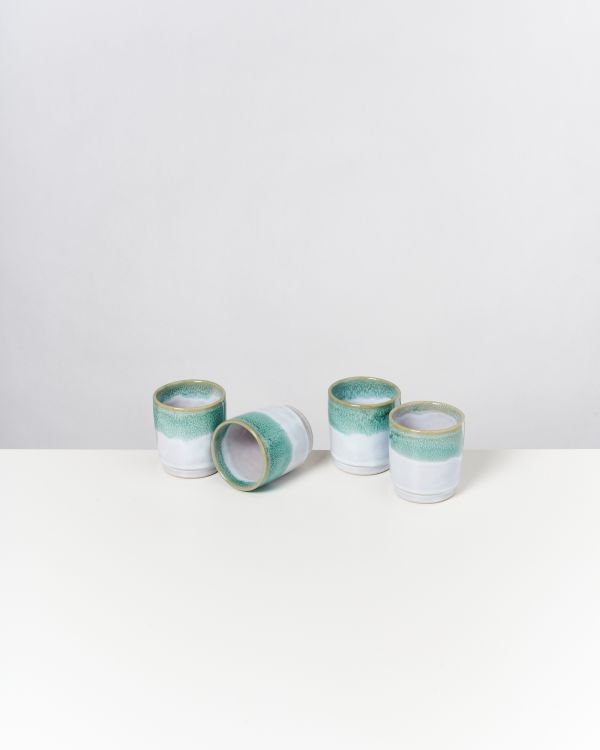 CORDOAMA - Set of 4 Cups mint
