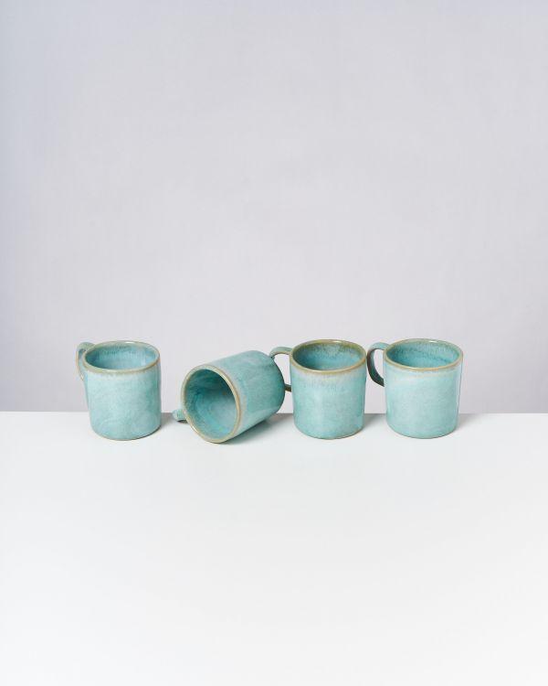 Cordoama - Set of 4 Mugs big mint